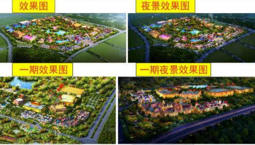 Details revealed of Evergrande Cultural Tourism City and Evergrande Fairyland