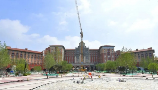 Main structure of first phase of Universal Beijing Theme Park completed
