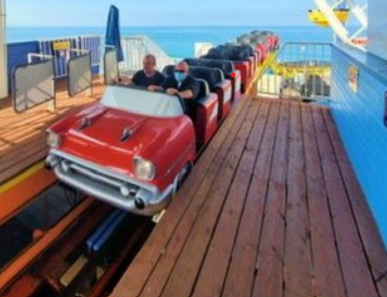 New Route 66-themed rollercoaster comes to Santa Monica's Pacific Park