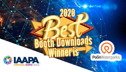 Polin Waterparks wins its first ever virtual award