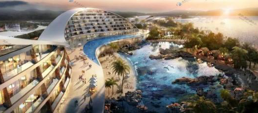 Hangzhou Bay cultural tourism complex to be built in Ningbo, China