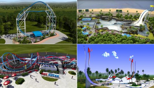 Intamin showcases four new ride concepts