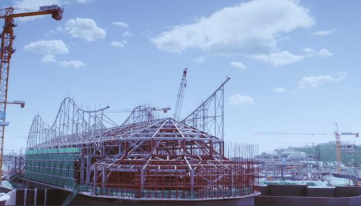 Construction complete on Universal Beijing Resort's main buildings
