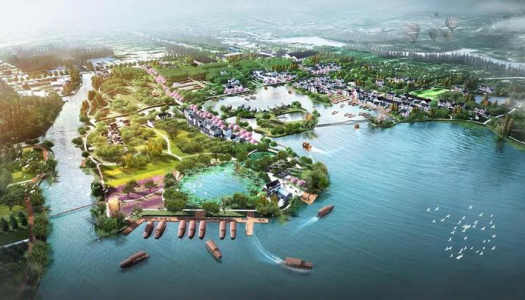 East Lake Tianyu Garden and theme park to be built in Hangzhou City, China