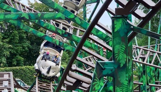 Family 'Rhyno' rollercoaster is launched at Serengeti Park