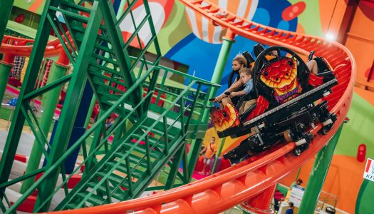 Maurer Rides creates indoor spinning coaster for Blockbuster Mall, Kiev