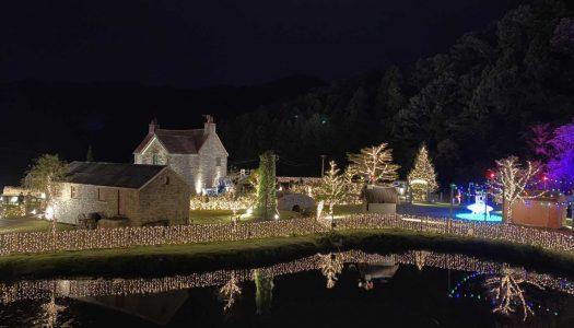 Shaun the Sheep Farm Garden in Japan gets illuminations makeover