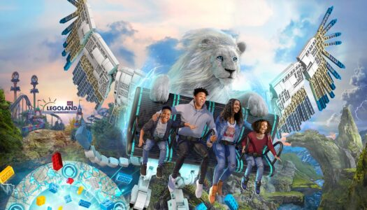 UK's first flying theatre ride to open at Legoland Windsor