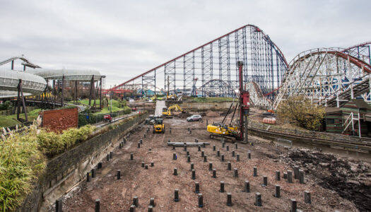 'Walk the Woodie' coaster experience offered at Blackpool Pleasure Beach