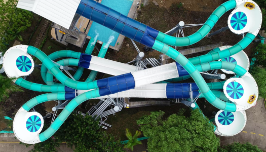 ProSlide's Dueling PIPElineBLAST launched at Cafalandia Water Park