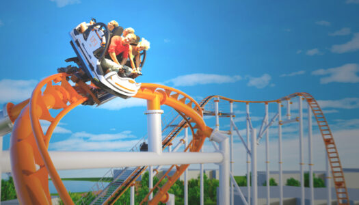 China builds first spinning coaster with loop without passengers being inverted