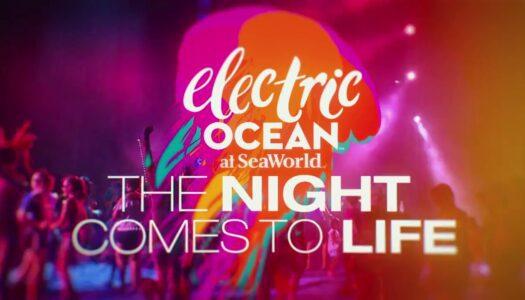 Electric Ocean returns to SeaWorld San Antonio
