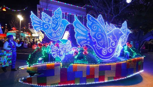 Dollywood teams up with Intel to launch drone light show