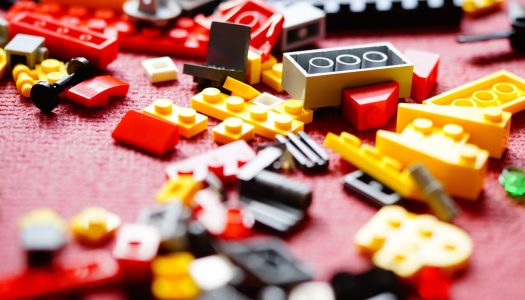 Lego unveils brick made from recycled plastic