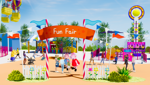 Merlin Entertainments announces world's first standalone Peppa Pig Resort in China