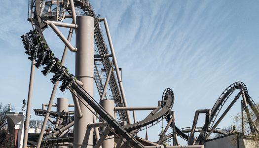 Monster roller coaster finally opens at Gröna Lund