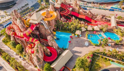 ProSlide water rides feature at newly opened Evergrande Ocean Flower Water Park, China