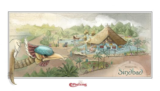 Efteling to be extended with Sinbad the Sailor themed attractions