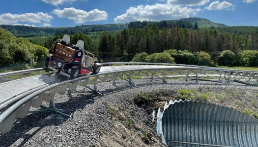 European-first rollercoaster launches at Zip World Tower, South Wales