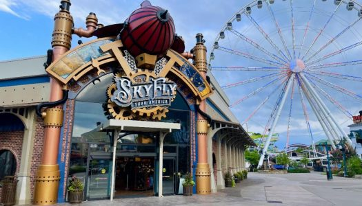 SkyFly opens at Pigeon Forge, Tennessee