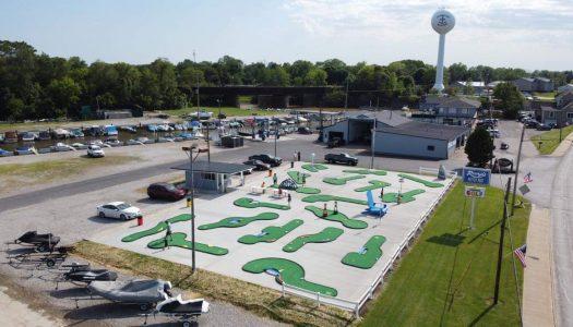 Ohio Marina replaces concrete golf course with AGS Modular Mini Golf Course