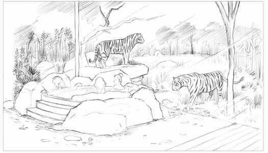 West Midlands Safari Park submits plans for new 'big cat' accommodation