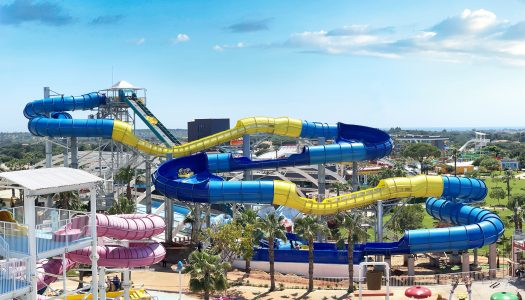 ProSlide's MammothBLAST Water Coaster offers the ultimate family water coaster experience